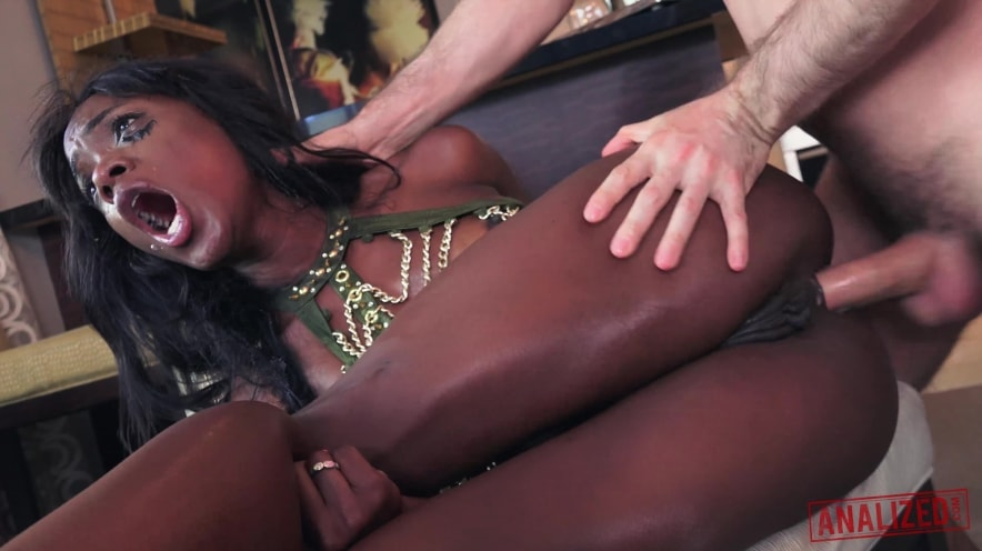 Ana Foxxx is a Stunning Anal Whore
