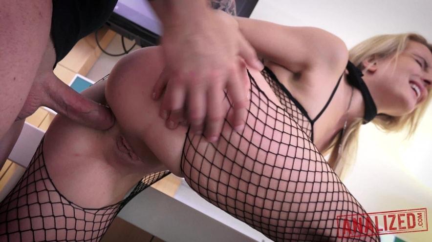 Jemma Valentine Bound and Ass Pummeled